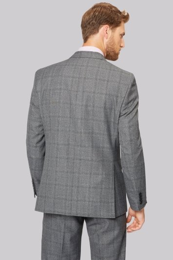 Moss Esq. Regular Fit Jaspe Check Jacket