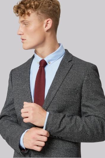Moss London Black Grey Scratch Jacket