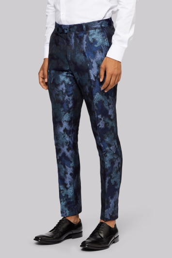 Moss London Blue Merman Trousers