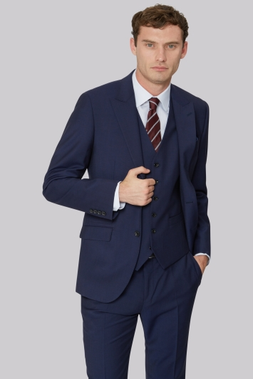 Hardy Amies Tailored Fit Blue Jacket