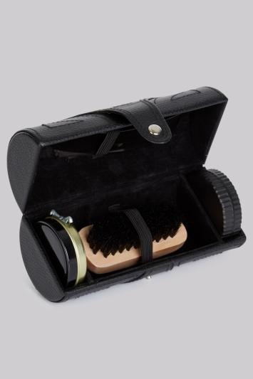 Moss 1851 Black Shoe Care Kit