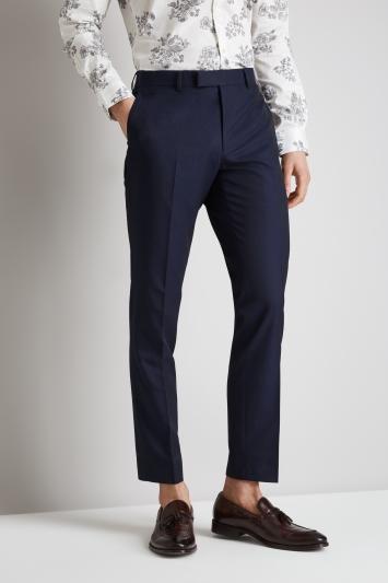 Moss London Skinny/Slim Fit Ink Trousers
