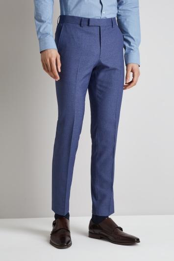 Moss London Skinny Fit Blue Lagoon Trousers