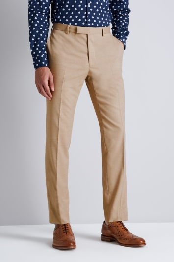 Moss London Skinny Fit Cappuccino Trousers