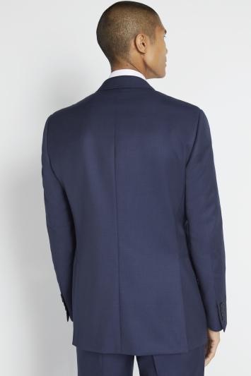 Savoy Taylors Guild Regular Fit Navy Twill Jacket