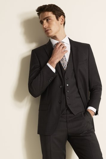 Ted Baker Grey Pindot Suit