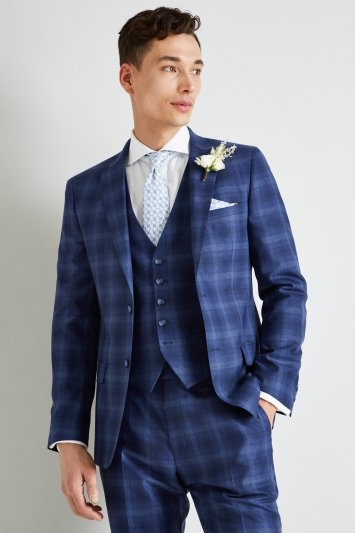 Ted Baker Blue Check Suit