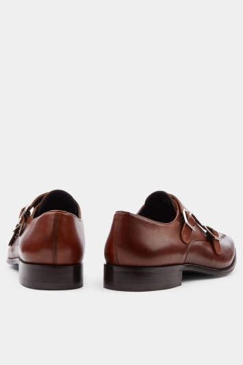 Moss 1851 Alfred Tan Double Monk