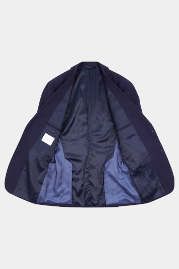 Lanificio F.lli Cerruti Dal 1881 Cloth Tailored Fit Blue iTravel wool Jacket