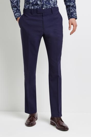 Lanificio F.lli Cerruti Dal 1881 Cloth Tailored Fit Blue iTravel Trouser