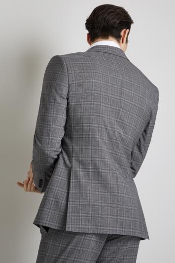 Lanificio F.lli Cerruti Dal 1881 Cloth Tailored Fit Grey Check iTravel Jacket