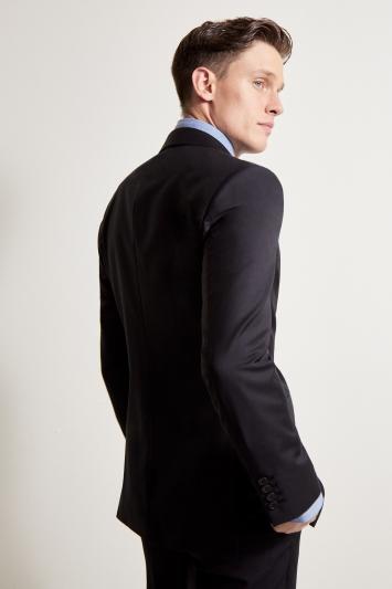 Ermenegildo Zegna Cloth Tailored Fit Black Jacket