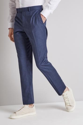DKNY Slim Fit Ocean Blue Jacket