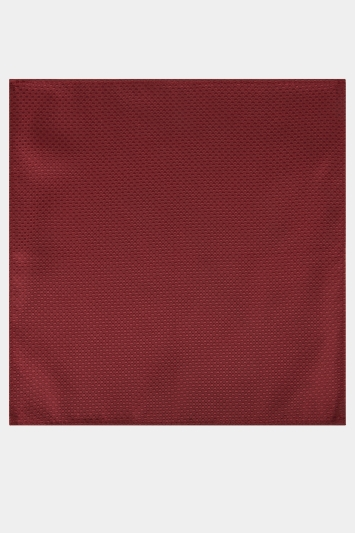 Moss London Wine Textured Pocket Square