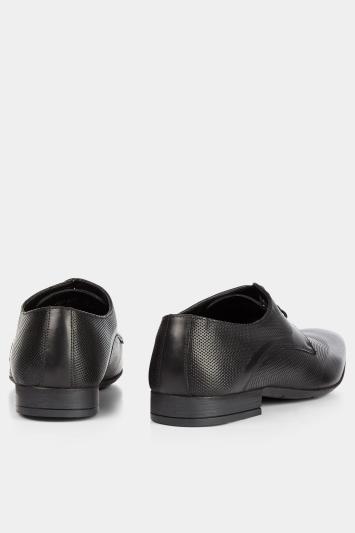 Moss London Walton Smart Textured Derby Shoe