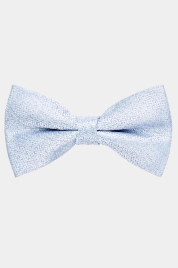 Moss 1851 Sky Texture Bow Tie