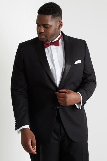 Moss Esq. Regular Fit Black Notch Dress Jacket