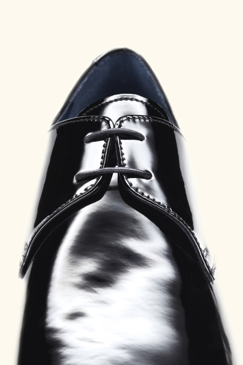 Moss 1851 Huxley Black Patent Dress Shoe