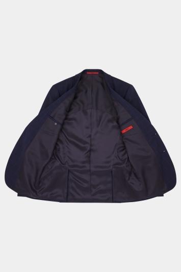 HUGO by Hugo Boss Navy with Blue Windowpane Jacket