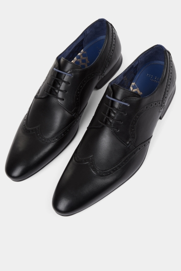 Ted Baker Ollivur Black Derby Shoe