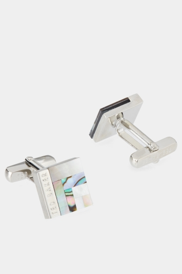 Ted Baker Burro Mother Of Pearl Cufflink