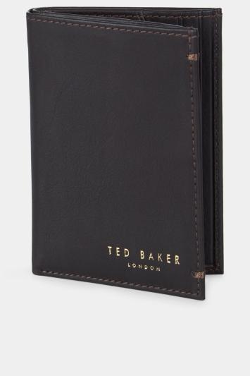Ted Baker Zaks Dark Brown Cardholder