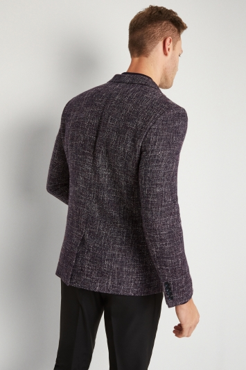 Moss London Skinny Fit Midnight Speckled Jacket