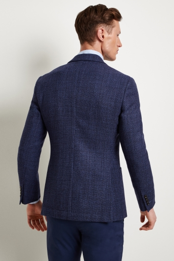 Moss 1851 Tailored Fit Blue Base Jacket