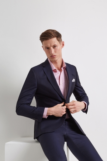 Moss 1851 Tailored Fit Ink Jacket