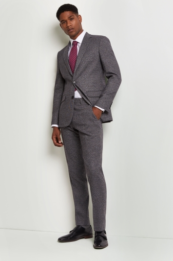 Moss 1851 Tailored Fit Charcoal Puppytooth Jacket