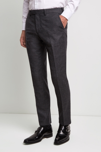 Moss 1851 Performance Tailored Fit Grey Milled Trousers