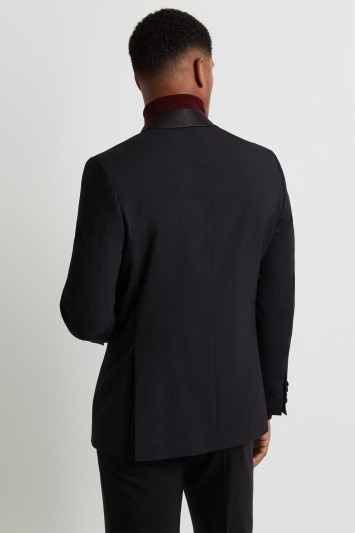 Tailored Fit Black Dress Jacket