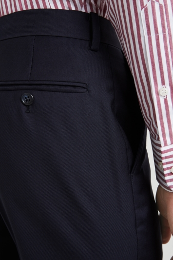 Moss 1851 Tailored Fit Navy Trouser
