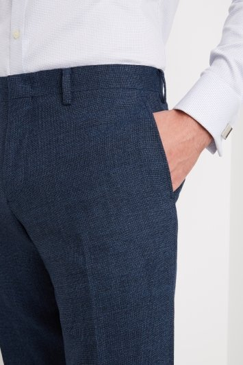 Moss 1851 Tailored Fit Bright Blue Trouser
