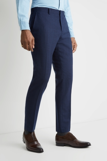 Moss 1851 Tailored Fit Ink Blue Trouser