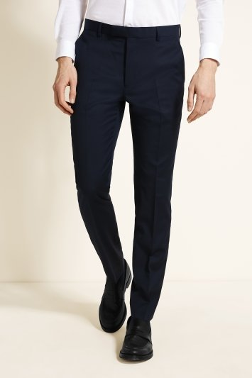 Moss 1851 Navy Twill Dress Trousers