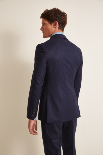 Tailored Fit Blue Jacket