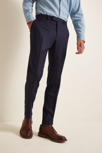Tailored Fit Blue Trousers