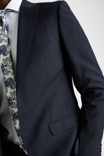 French Connection Slim Fit Navy Jacket