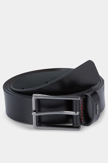 HUGO by Hugo Boss Black Leather Keeper Gunmetal