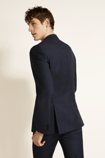 HUGO by Hugo Boss Navy Shadow Check Jacket