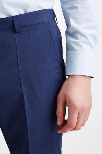 HUGO by Hugo Boss Navy Semi Plain Trousers