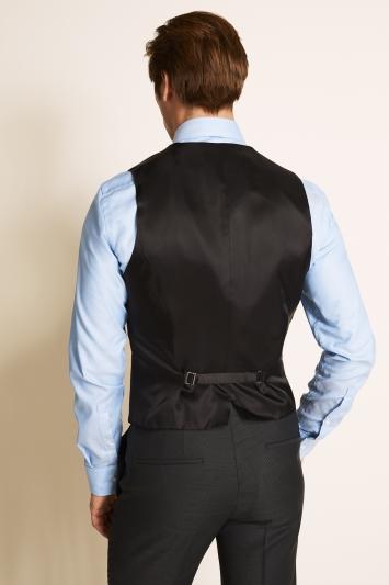 Slim Fit Charcoal Basketweave Jacket