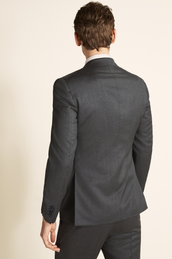 Savoy Taylors Guild Tailored Fit Grey Twill Jacket