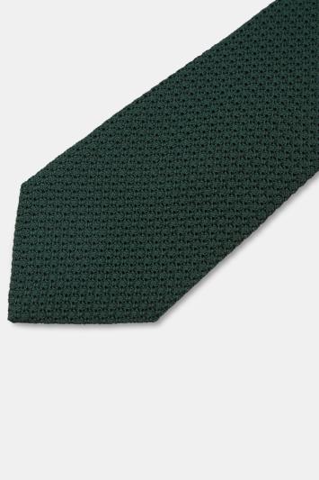 Savoy Taylors Guild Green Grenadine Italian Tie