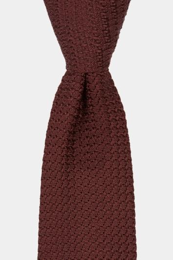 Savoy Taylors Guild Wine Grenadine Italian Tie