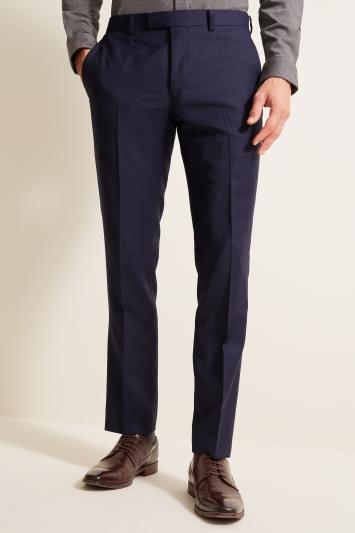DKNY Slim Fit Navy Panama Openweave Jacket