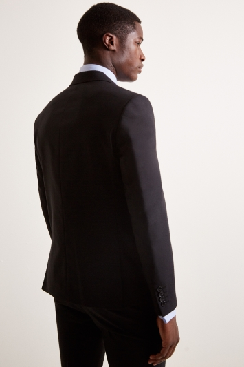 DKNY Slim Fit Black Jacket