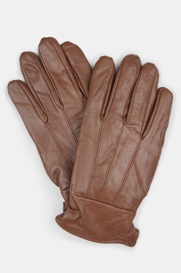 Chocolate Leather Gloves