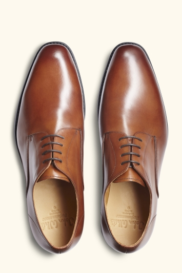 John White Alberta Tan Performance Derby Shoe
